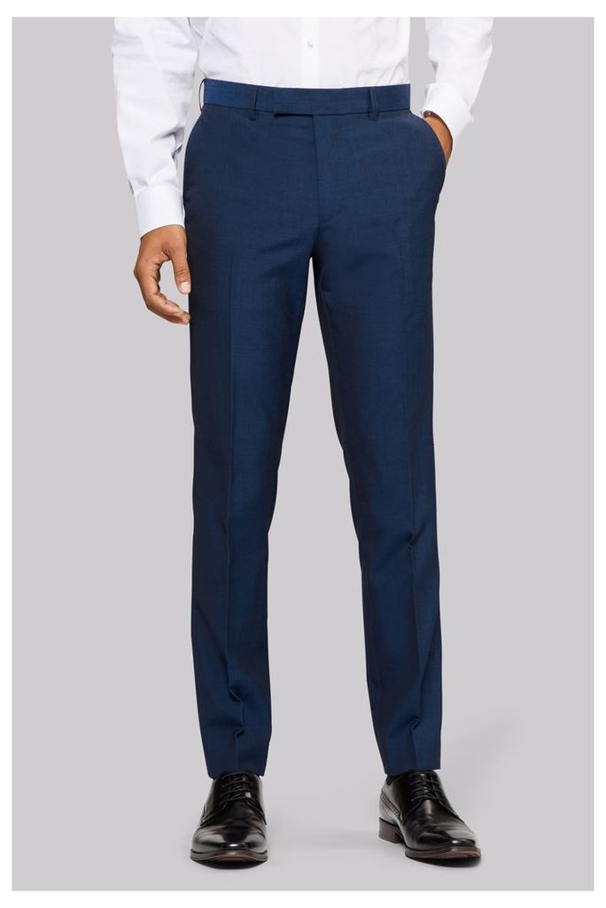 Moss London Midnight Blue PW Trousers