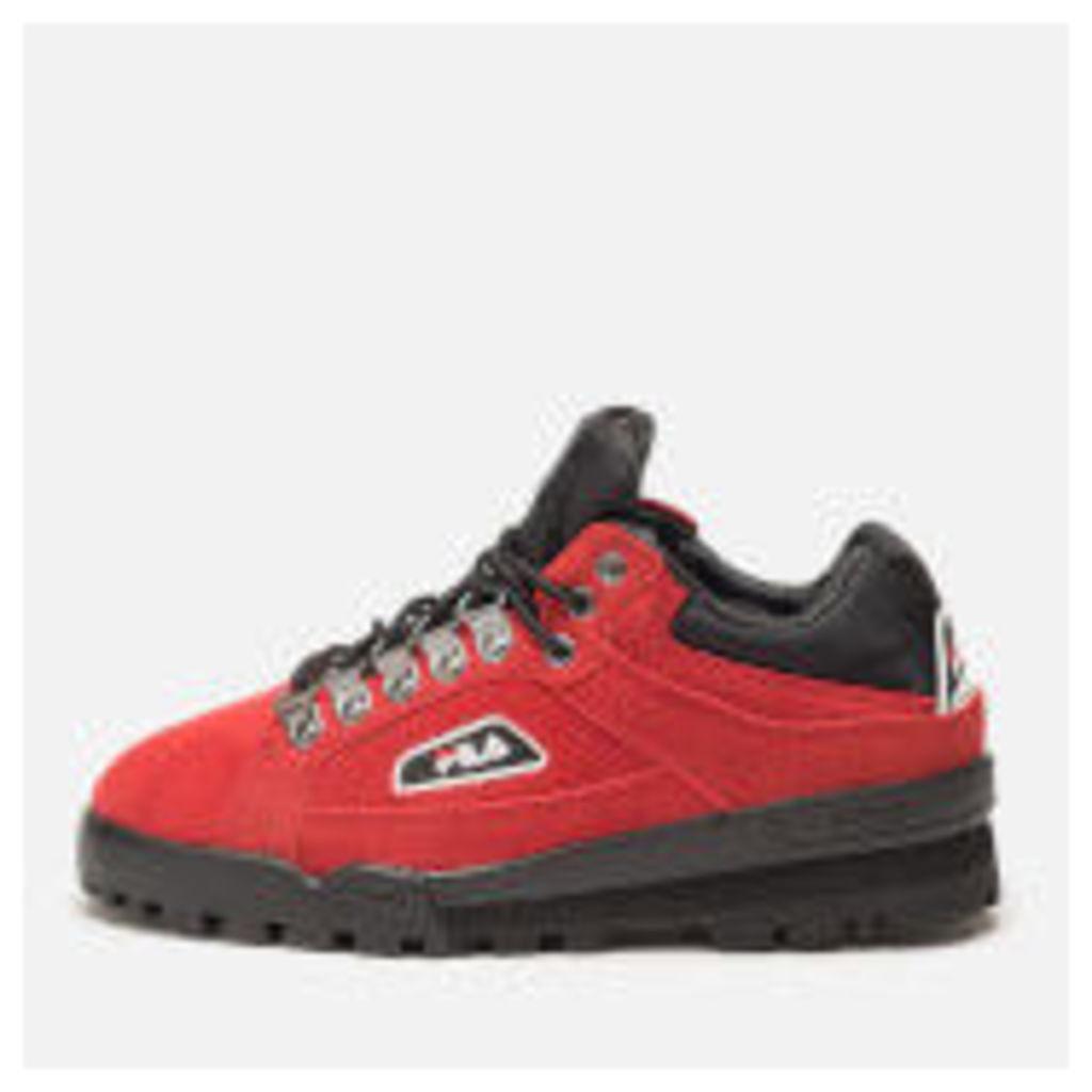 FILA Men's Trail Blazer Trainers - Pompein Red/Black/White