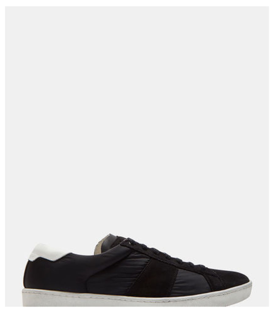 SL/01 Suede and Nylon Court Classic Sneakers