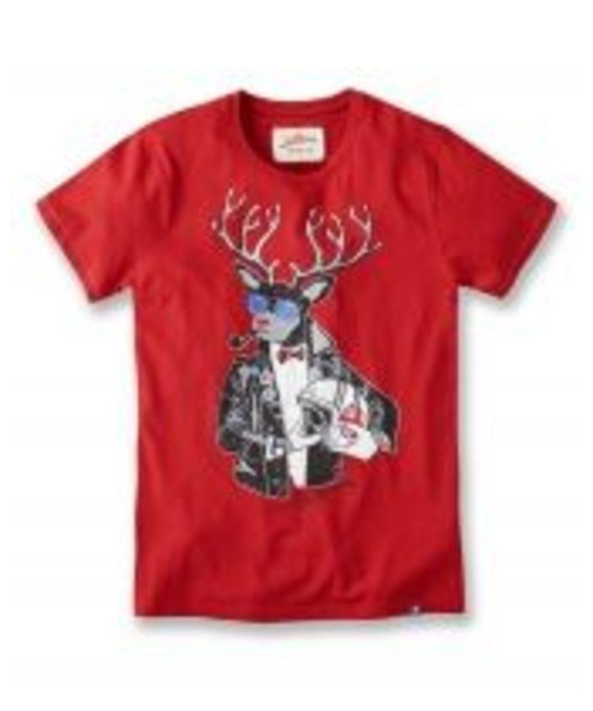 Biker Dolf Christmas T-Shirt