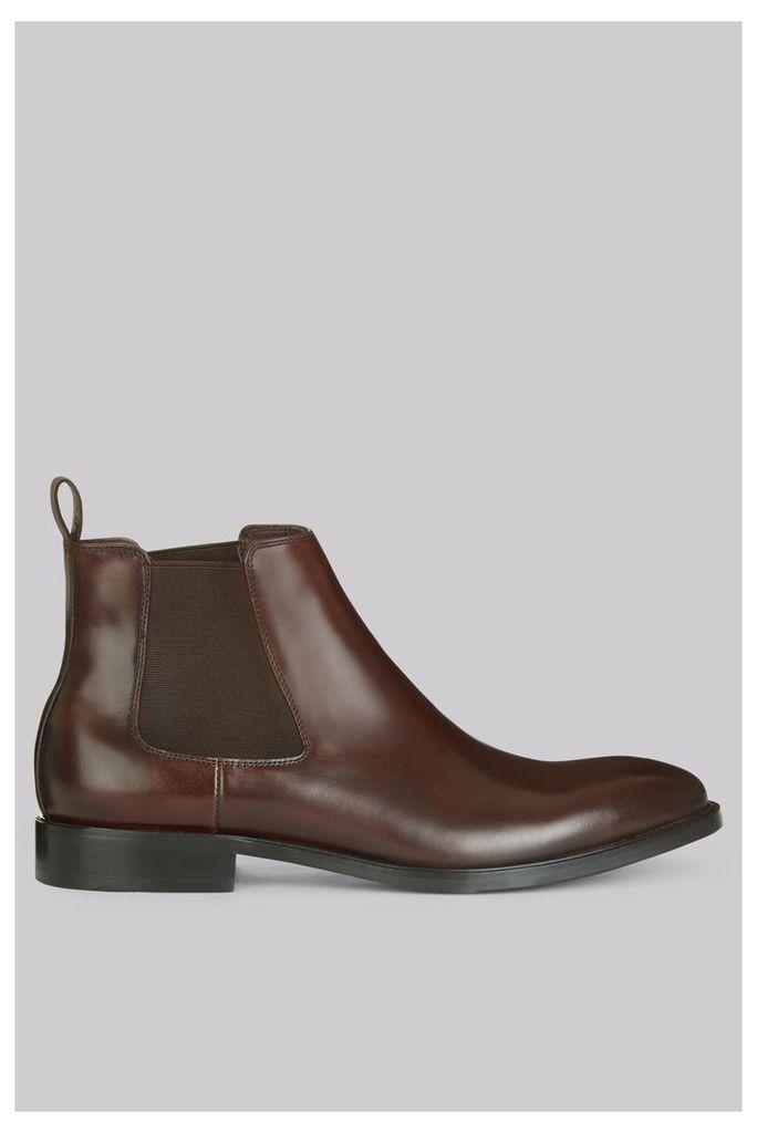 John White Admiral Brown Chelsea Boot