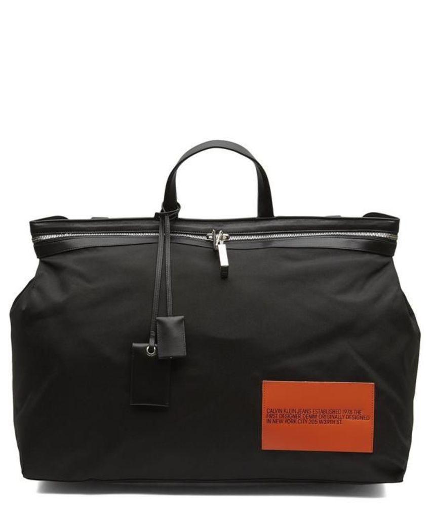 Nylon Patch Tote Bag