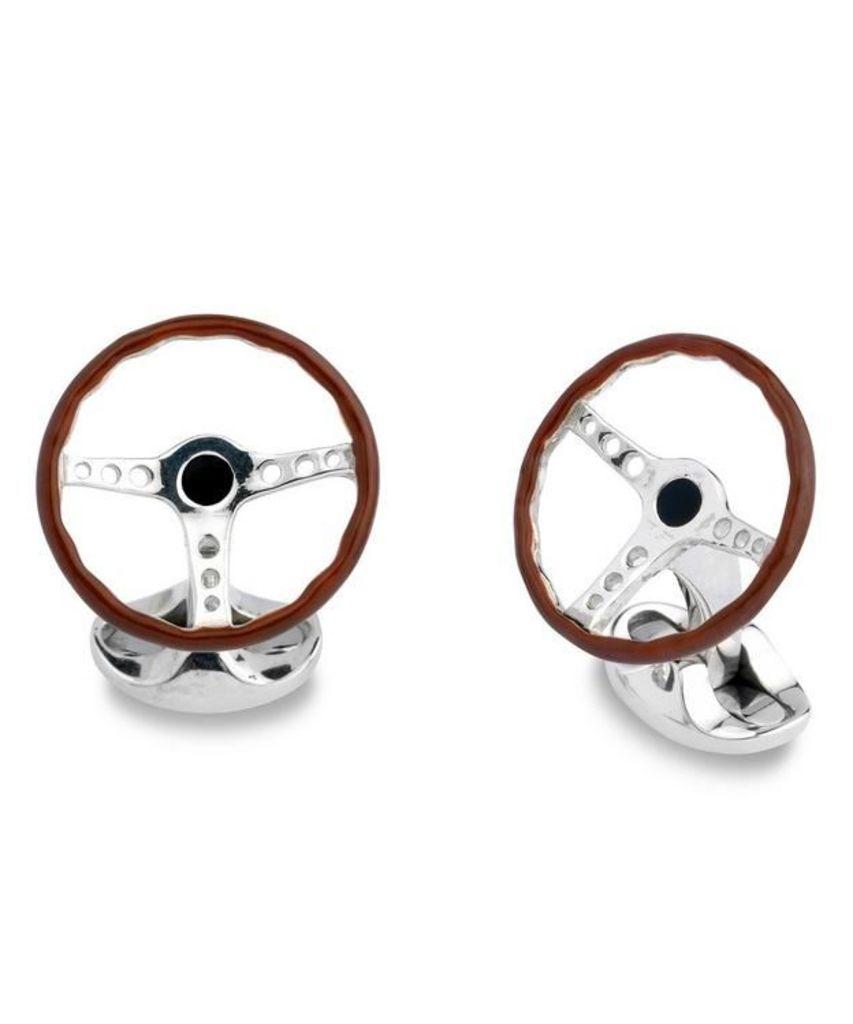 Steering Wheel Cufflinks