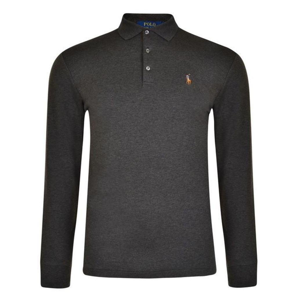 POLO RALPH LAUREN Logo Long Sleeved Polo Shirt