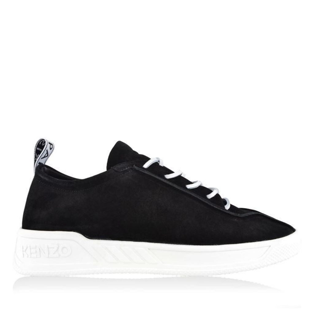 KENZO Chad Reversed Suede Trainers