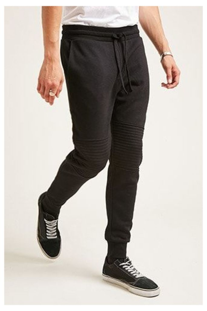 Fleece Moto Sweatpants