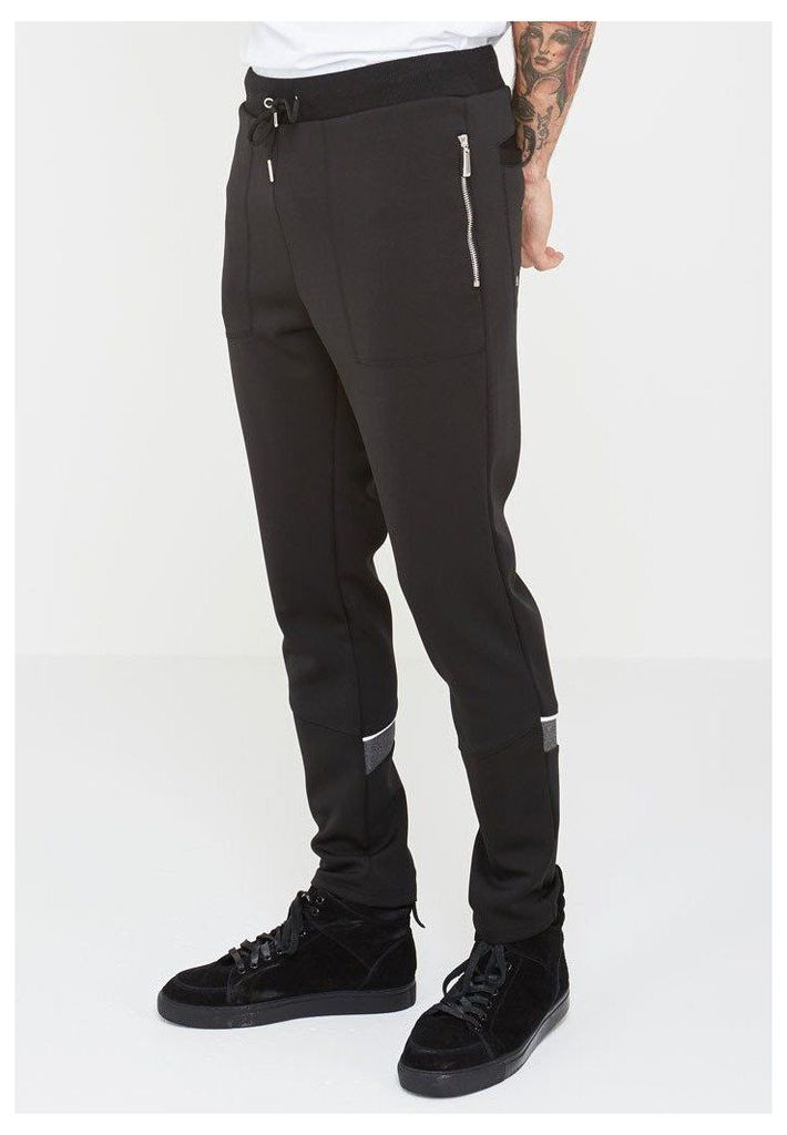 MDV Neoprene Tracksuit Bottoms - Black
