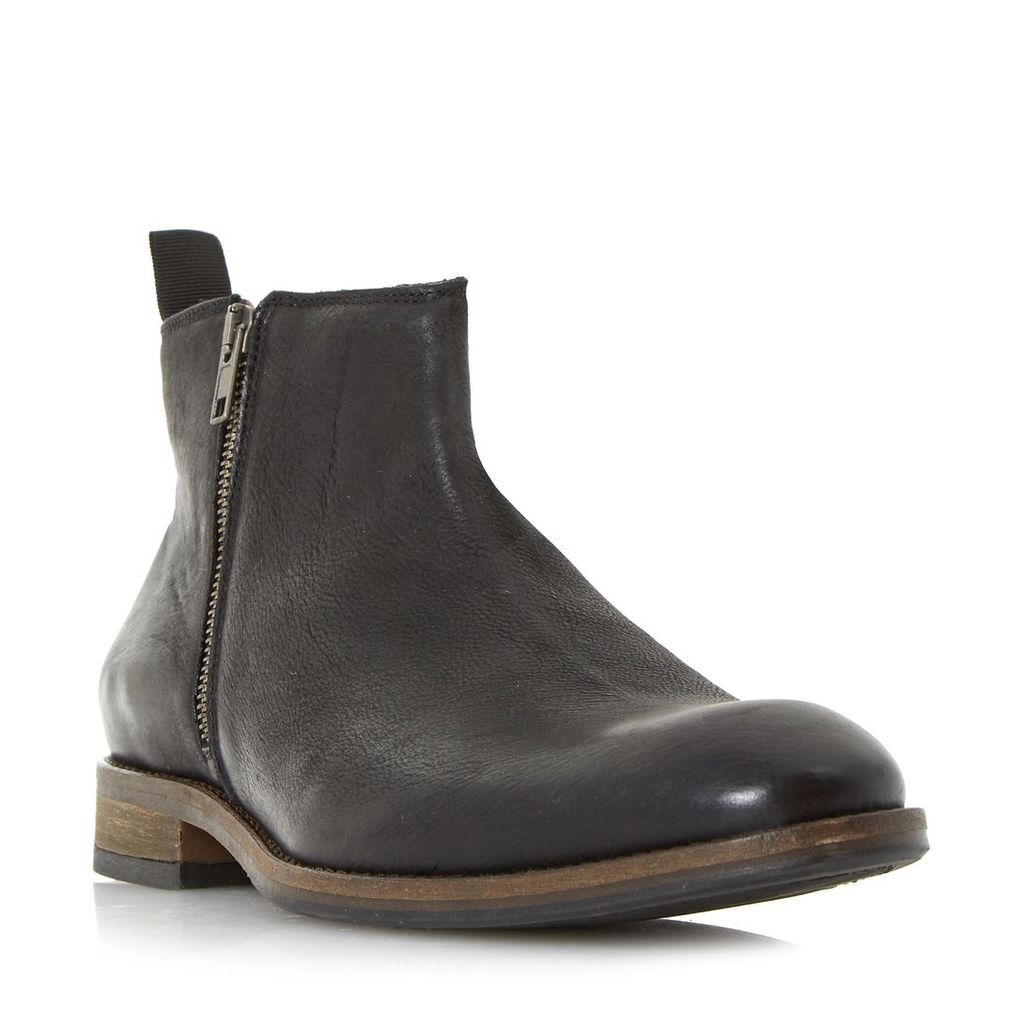 Coleman Side Zip Casual Ankle Boot