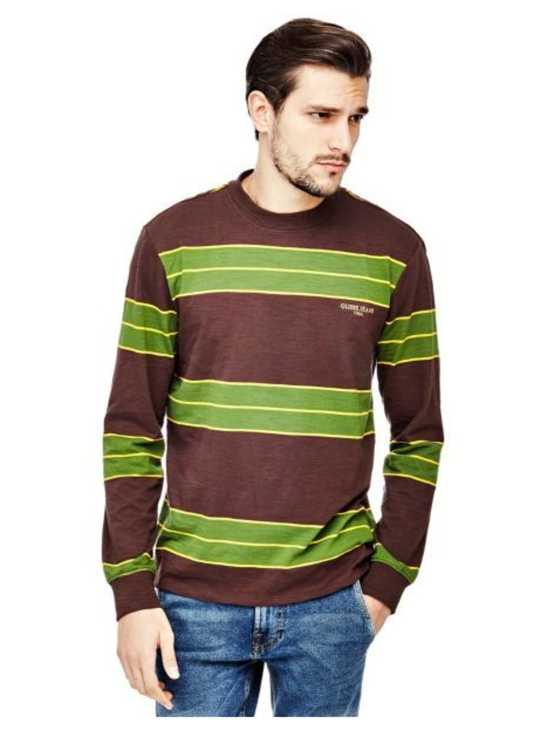 Guess Stripe Motif Sweater