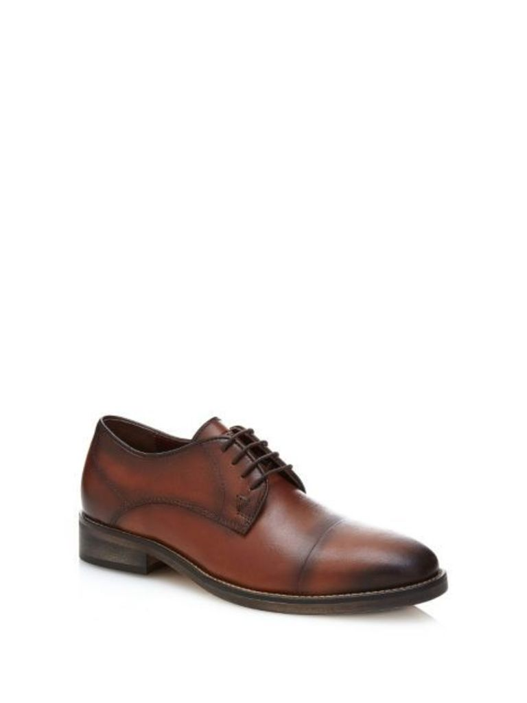 Guess Jake Leather Lace-Up Shoe
