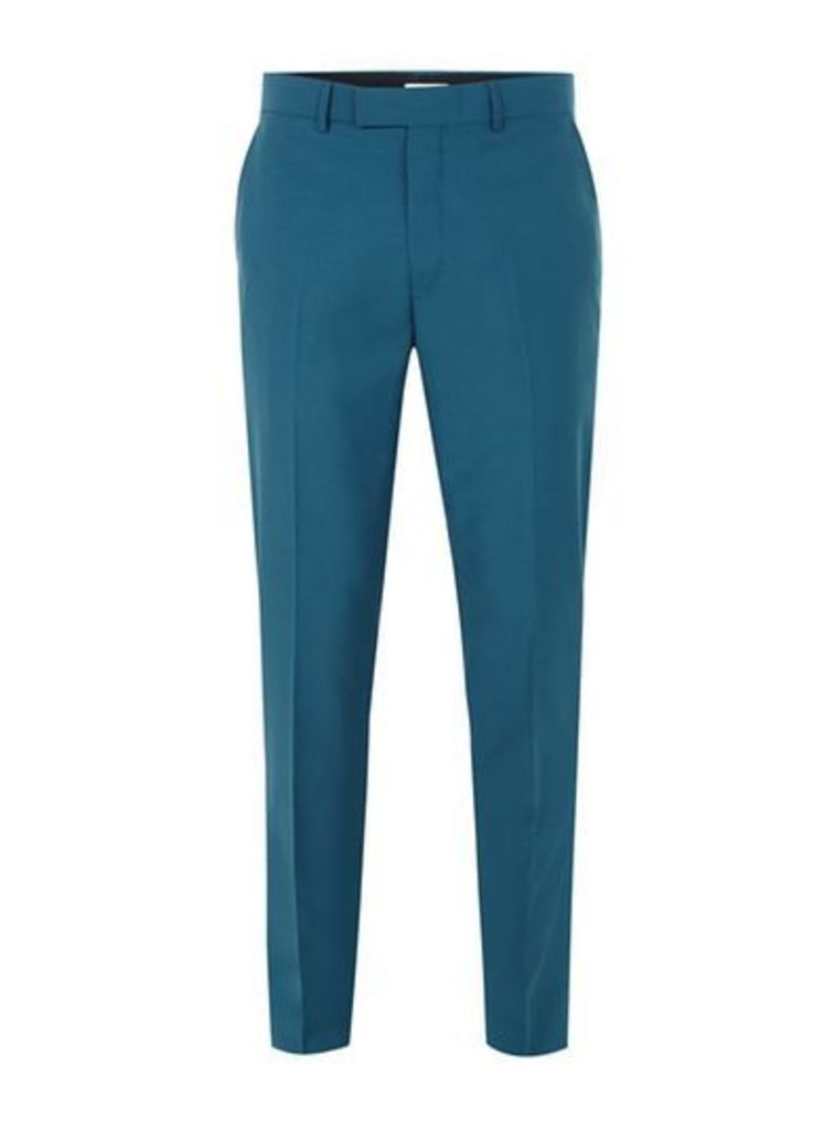 Mens FARAH Blue 'Henderson' Trousers, Blue