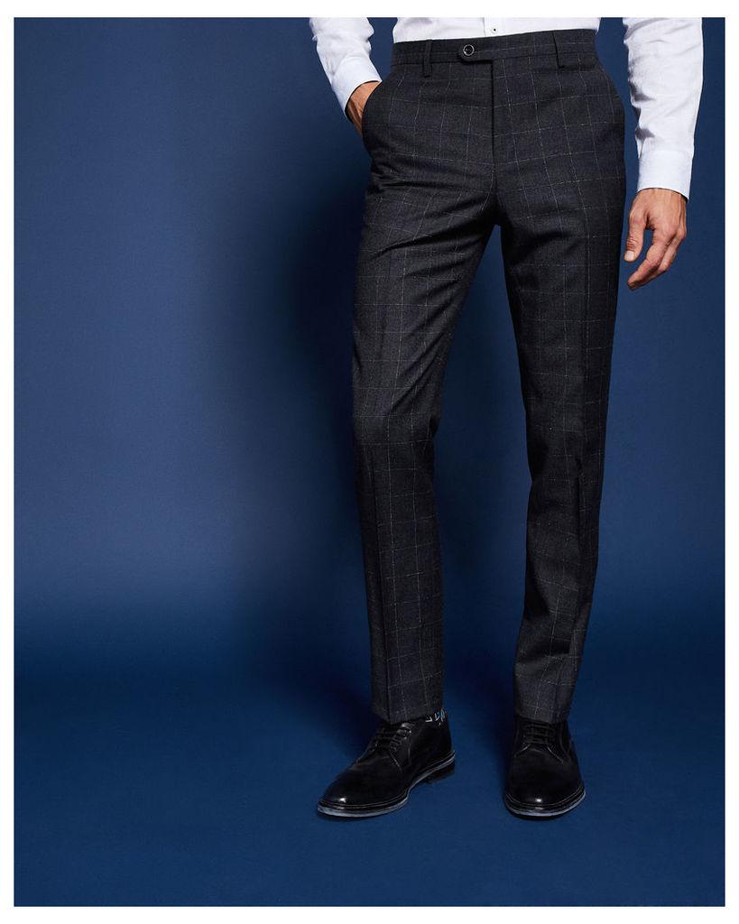 Ted Baker Debonair check suit trousers Grey