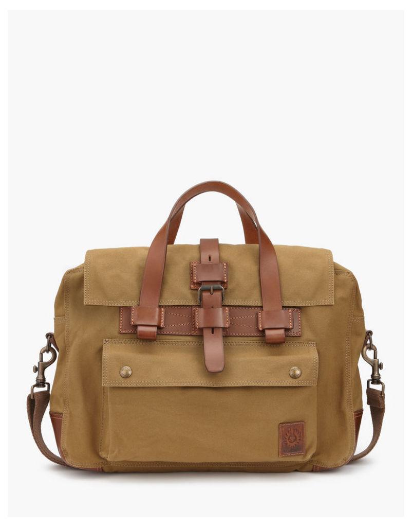 Belstaff Colonial Briefcase khaki