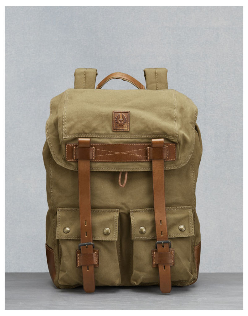 Belstaff Colonial Backpack khaki