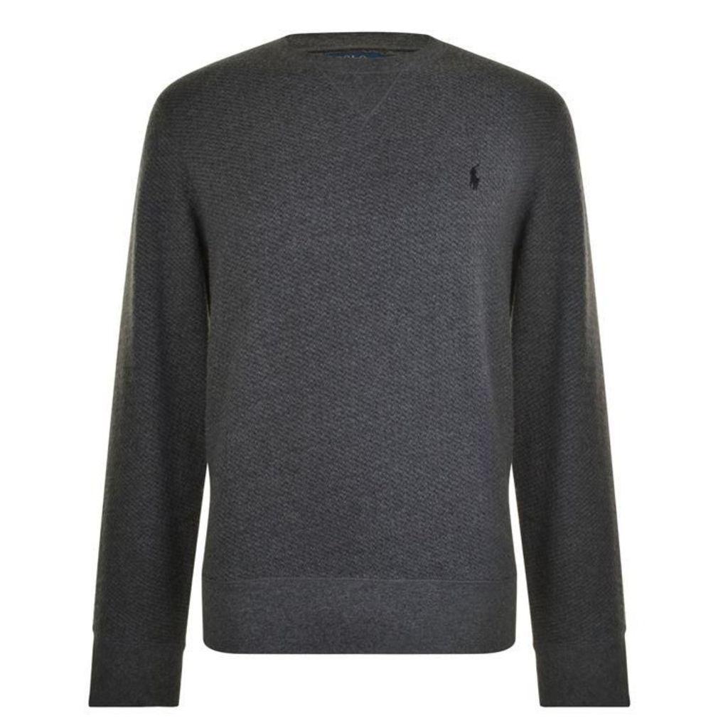 POLO RALPH LAUREN Long Sleeved Logo Knitted Jumper