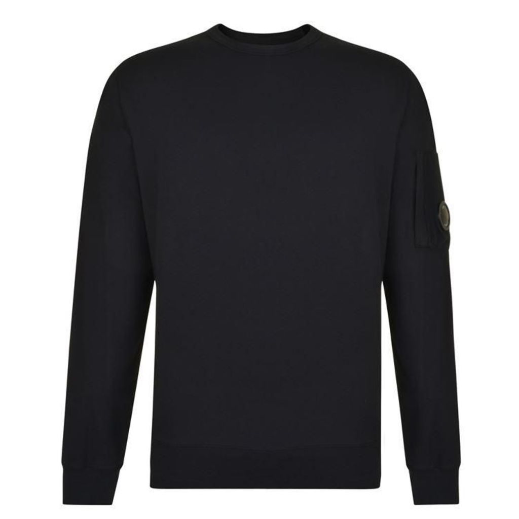 CP COMPANY Crew Neck Lens Sweatshirt