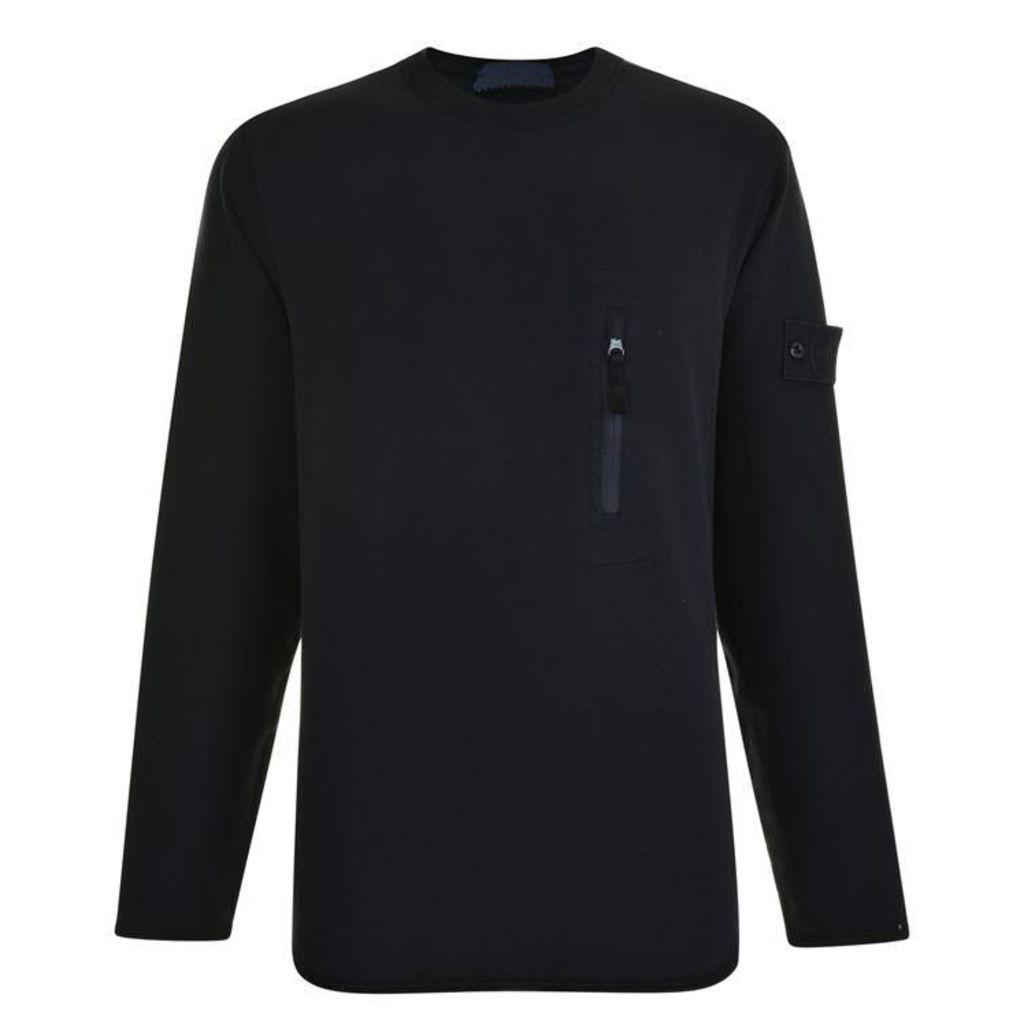 STONE ISLAND Ghost Logo Sweatshirt