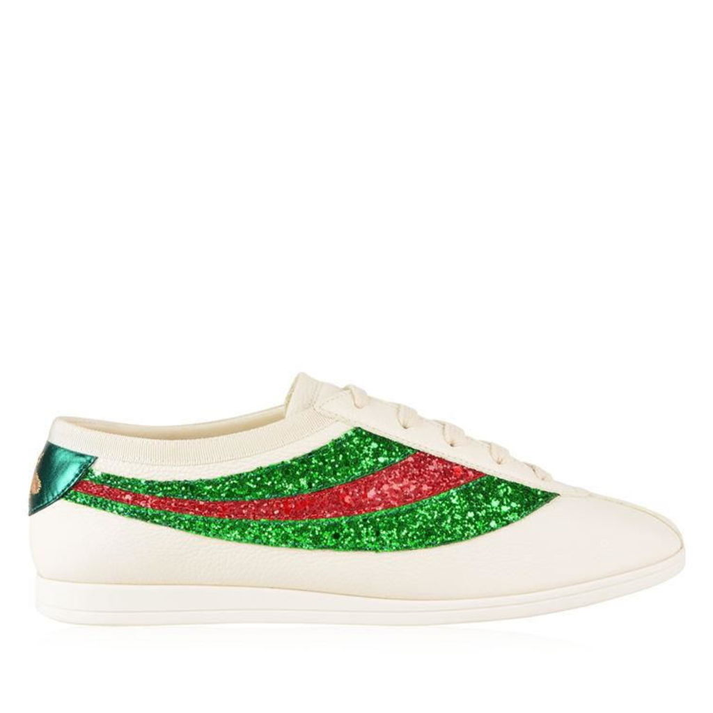 GUCCI Falacer Glitter Trainers