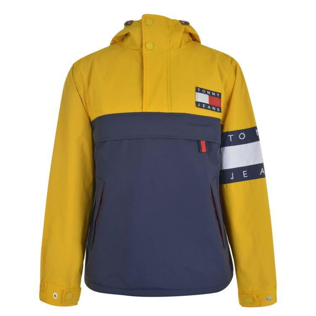 TOMMY JEANS Colour Block Pullover Jacket