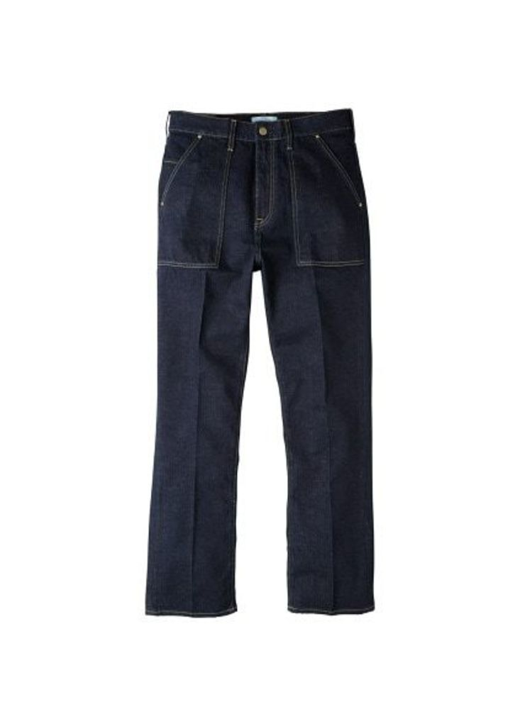 Straight-fit dark Gustave jeans