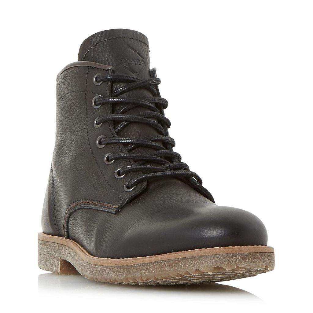 Corporal Crepe Sole Lace Up Worker Boot