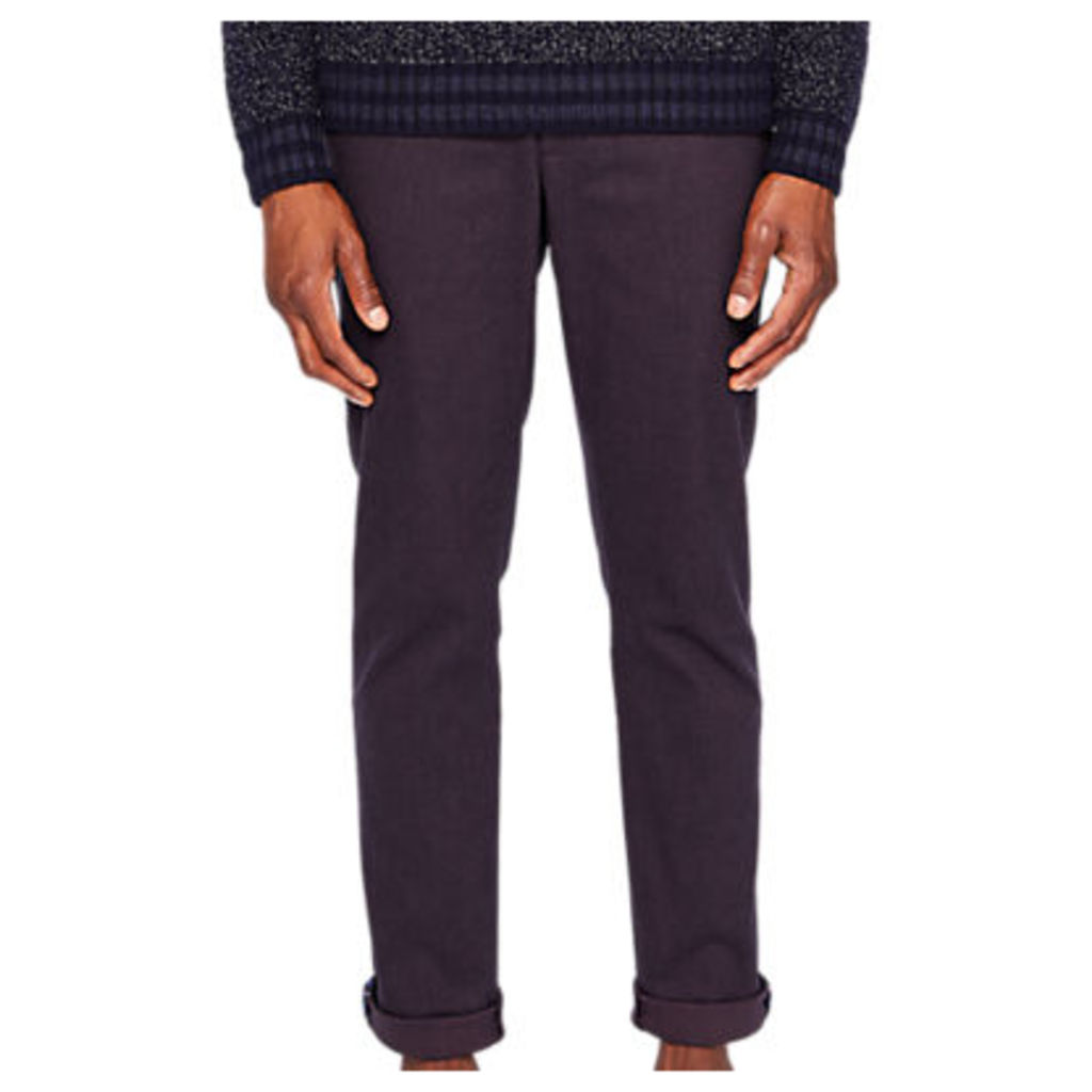 Ted Baker Maxchi Slim Fit Textured Trousers