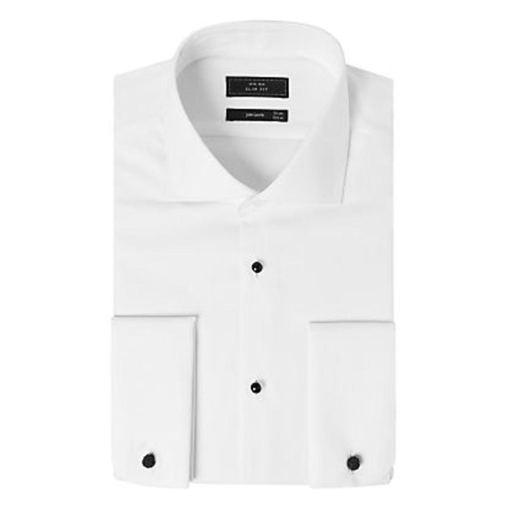 John Lewis Marcella Slim Fit Dress Shirt, White