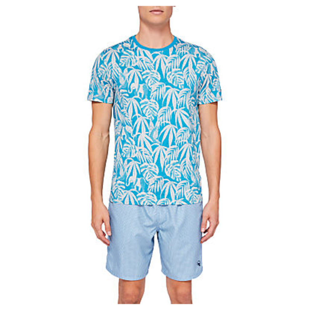 Ted Baker Corbet Leaf Print Print T-Shirt