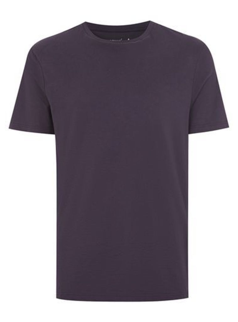 Mens Purple Slim Fit T-Shirt, Purple