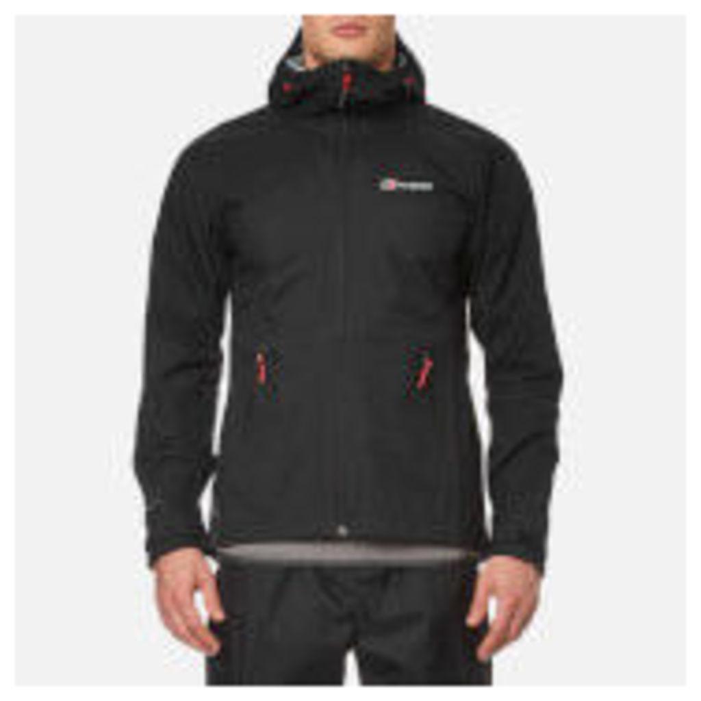 Berghaus Men's Stormcloud Hydroshell Jacket - Black - L - Black