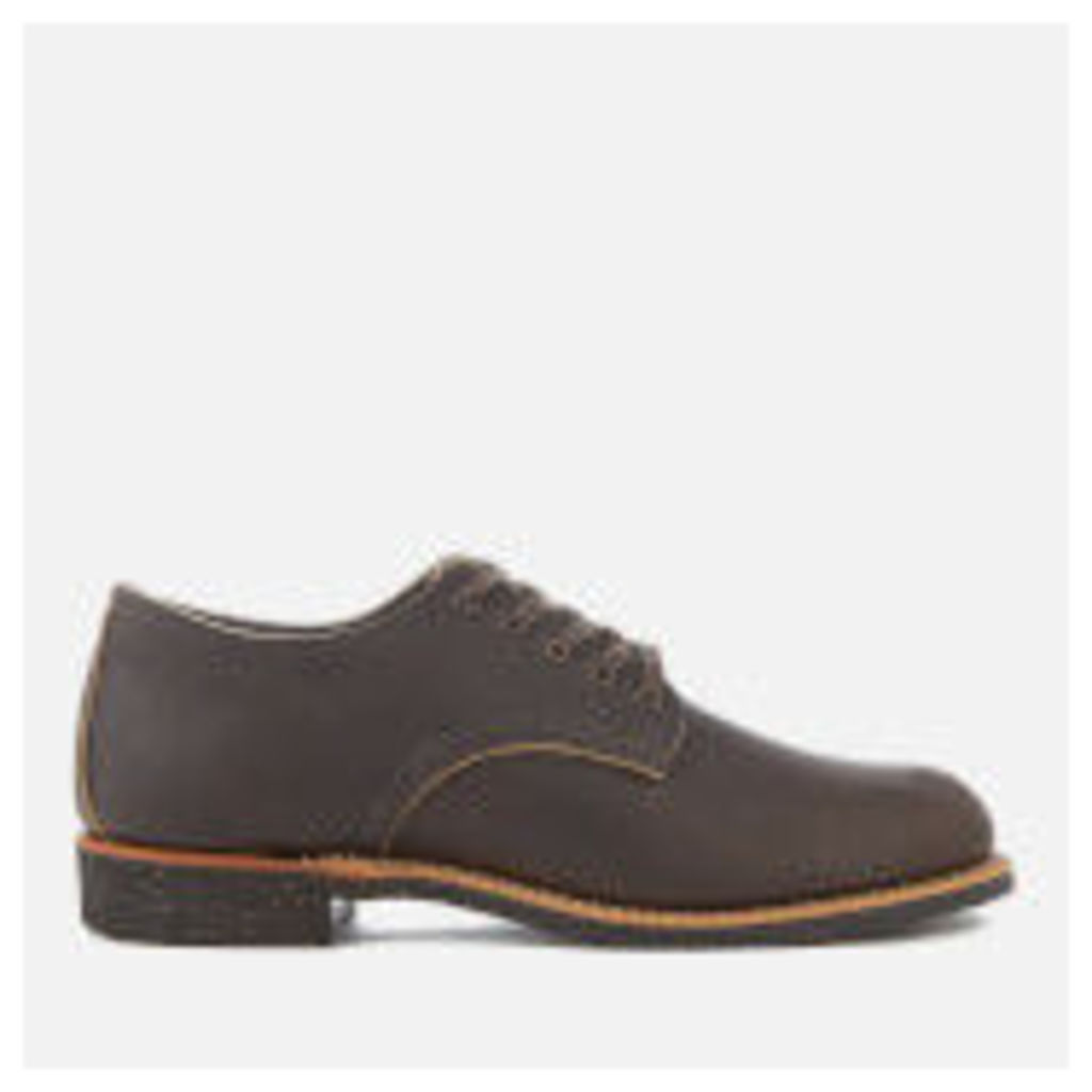 Red Wing Men's Merchant Leather Oxford Shoes - Ebony Harness - UK 7 - Brown