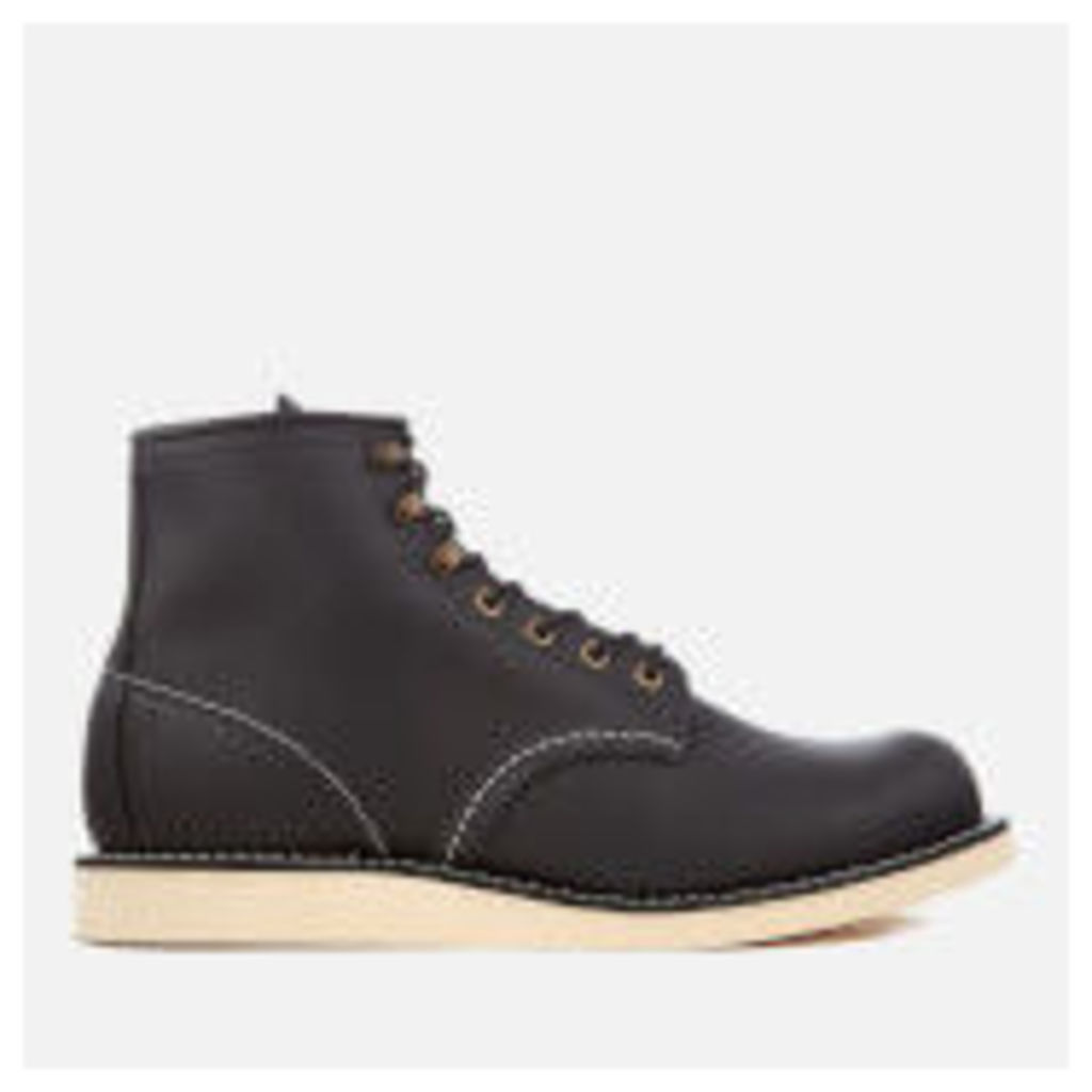 Red Wing Men's Rover 6 Inch Leather Lace Up Boots - Black