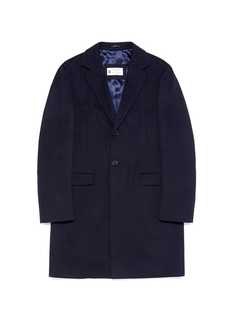 Loro Piana Storm System® wool melton coat