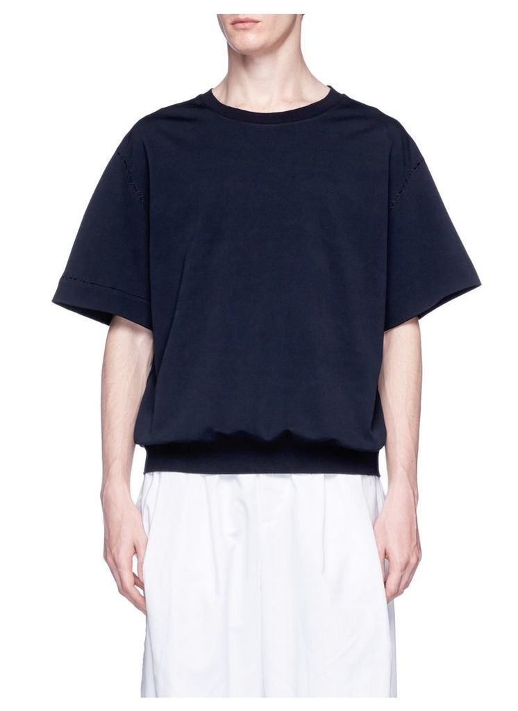 Stretch boxy fit T-shirt