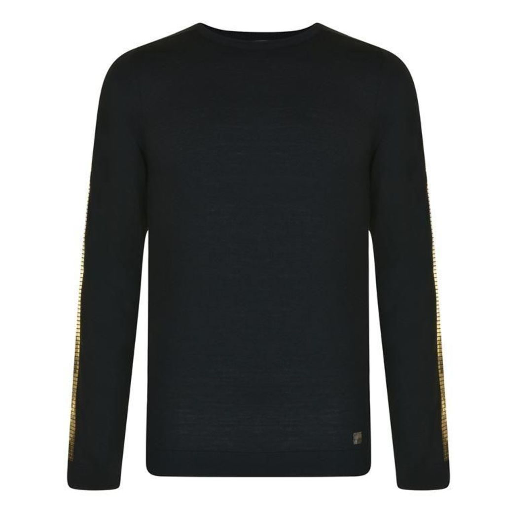 VERSACE COLLECTION Studded Trim Jumper