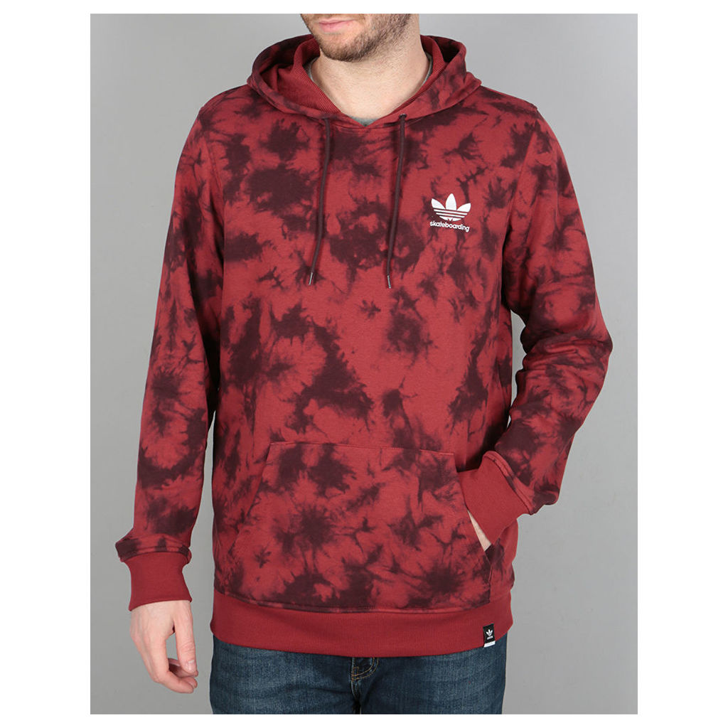 Adidas Clima Remix 3.0 Pullover Hoodie - Mystery Red/Night Red (X Small)
