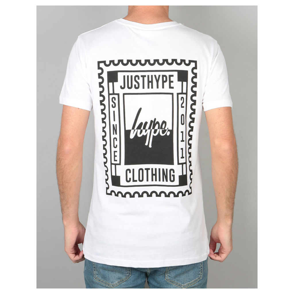 Hype Stamp T-Shirt - White (X Small)