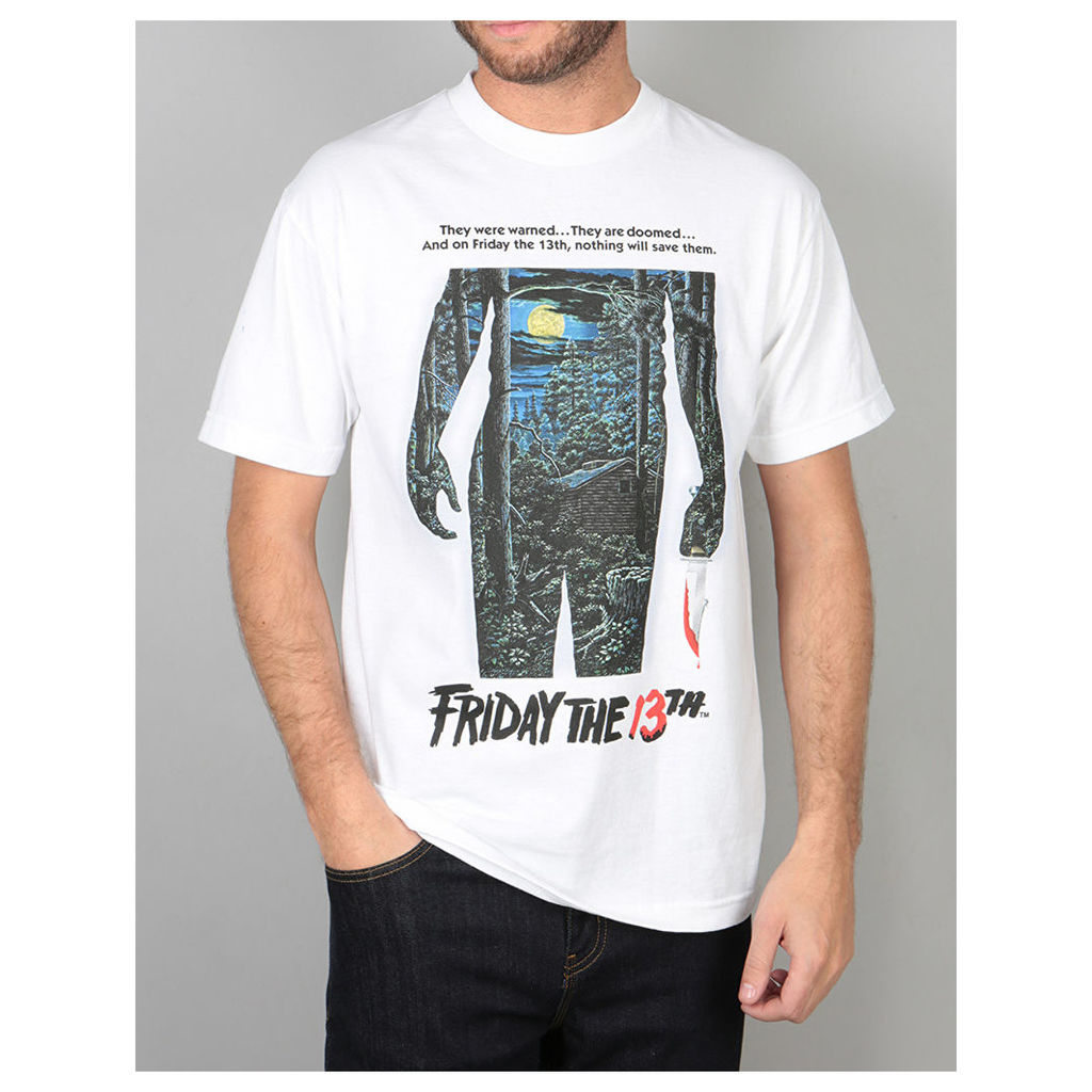 The Hundreds x Friday The 13th Poster T-Shirt - White (L)