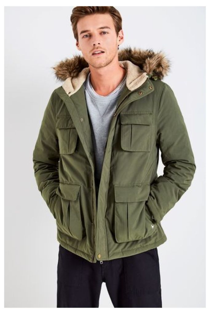BROMHEAD DOWN PARKA OLIVE