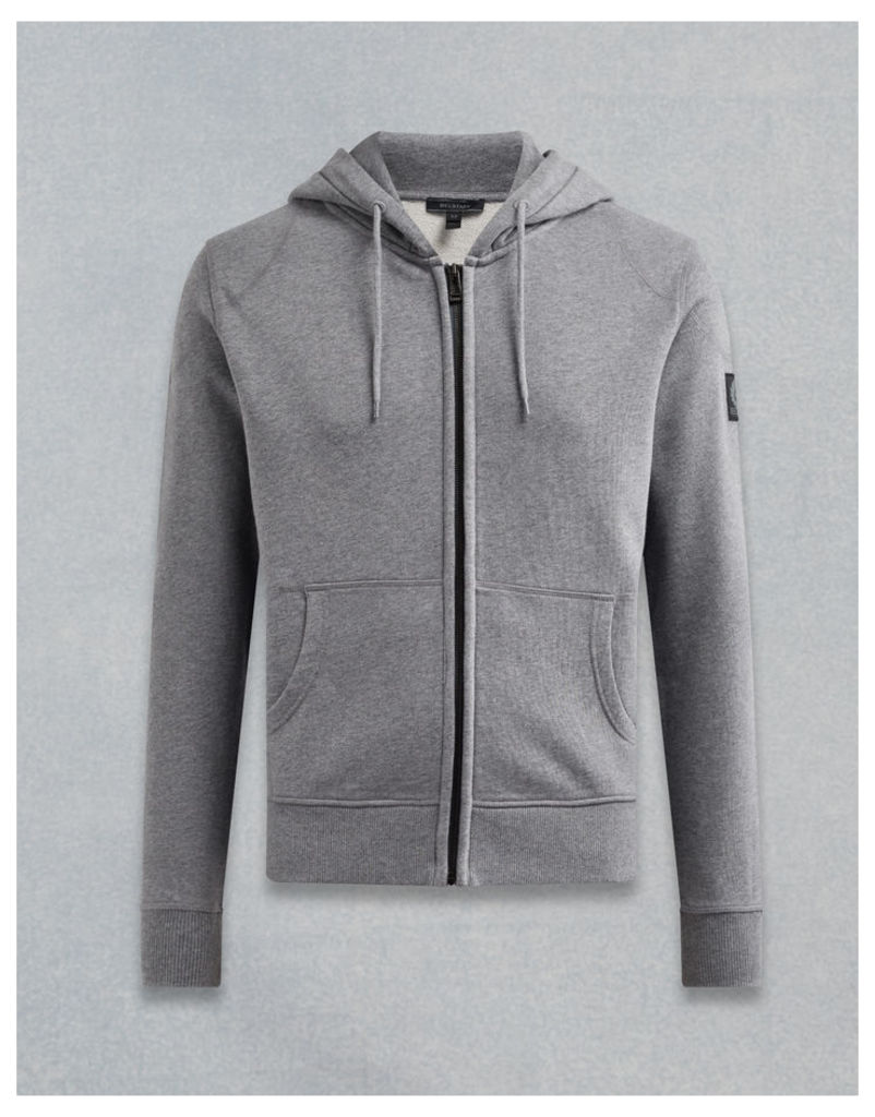 Belstaff Wentworth Hooded Sweatshirt Grey