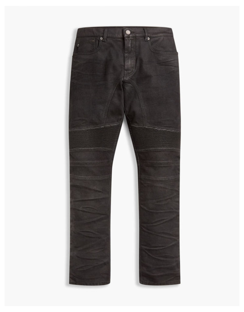 Belstaff Eastham Tapered Fit Trousers Black