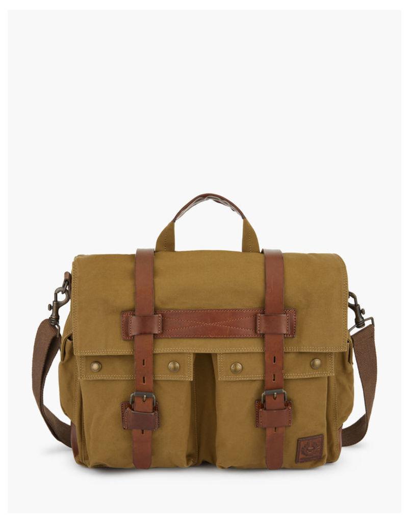 Belstaff Colonial Messenger Bag khaki