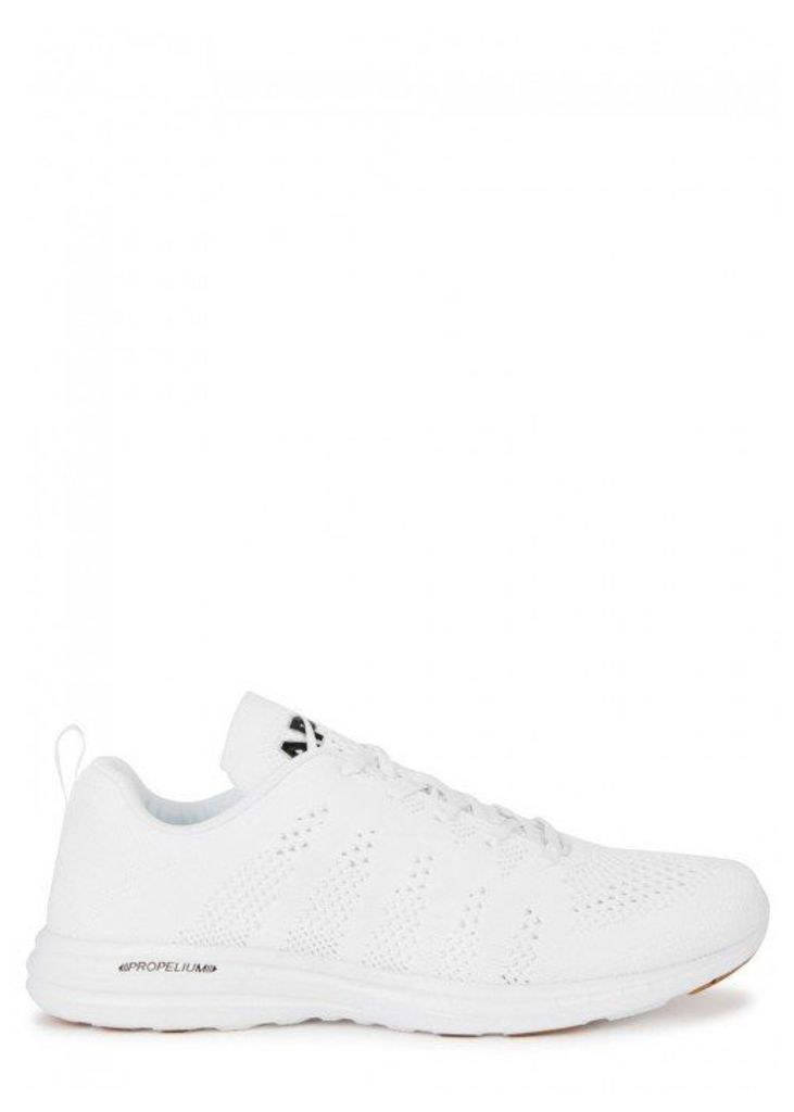 Athletic Propulsion Labs TechLoom Pro White Knitted Trainers - Size 8