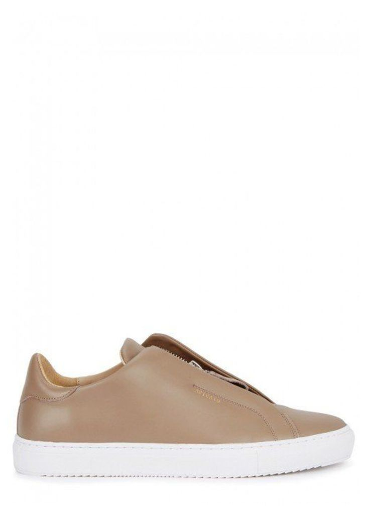 Axel Arigato Clean 90 Brown Leather Trainers - Size 7