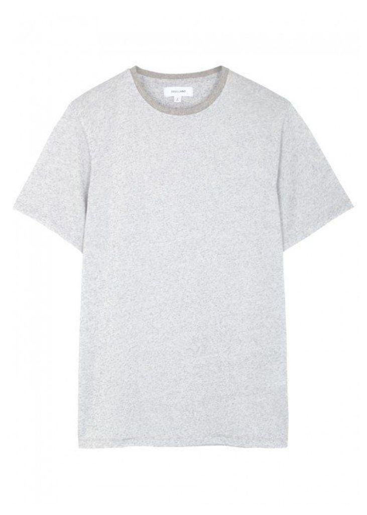 Soulland Airwrecka Grey Cotton Blend T-shirt - Size L