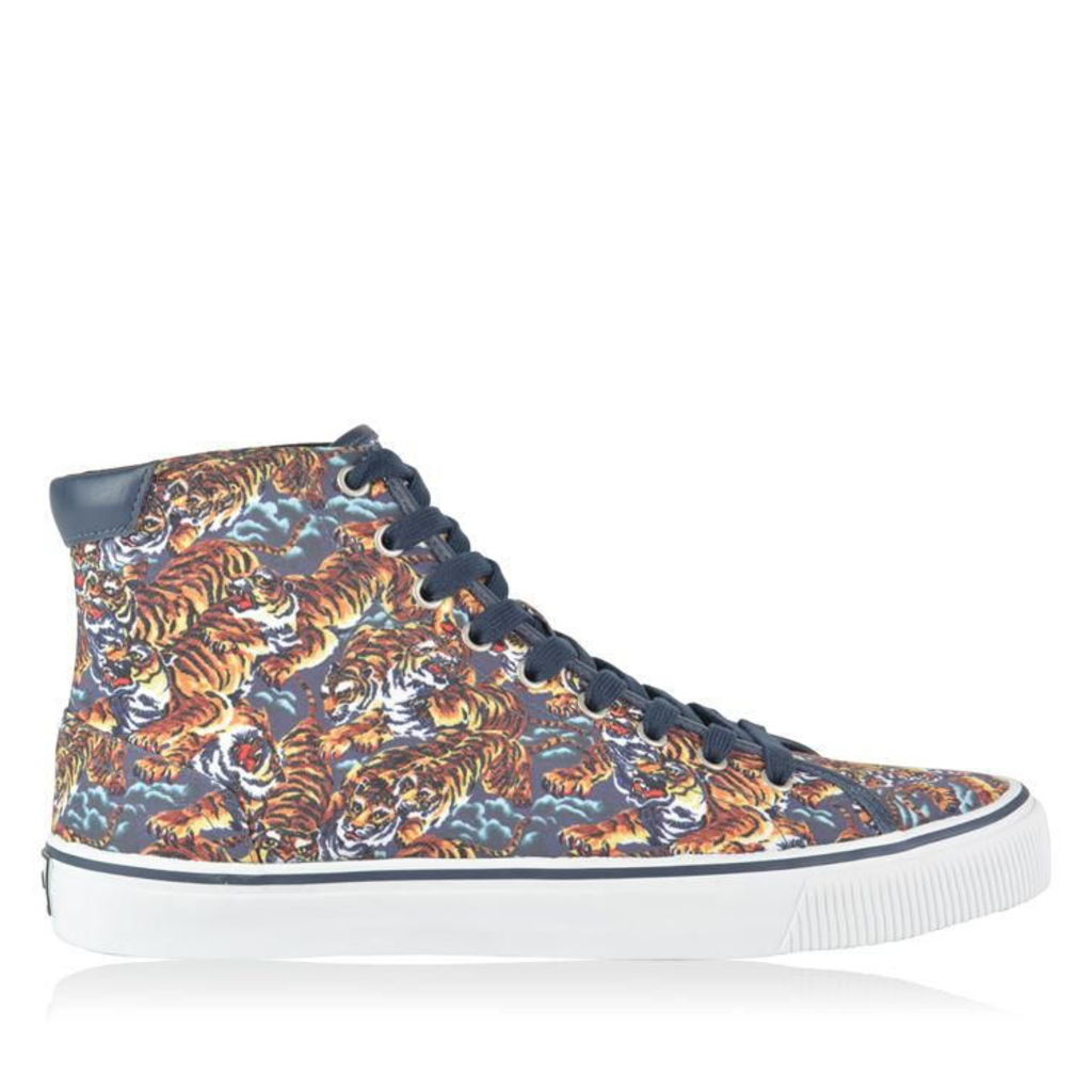 KENZO Vulcano High Top Tiger Trainers
