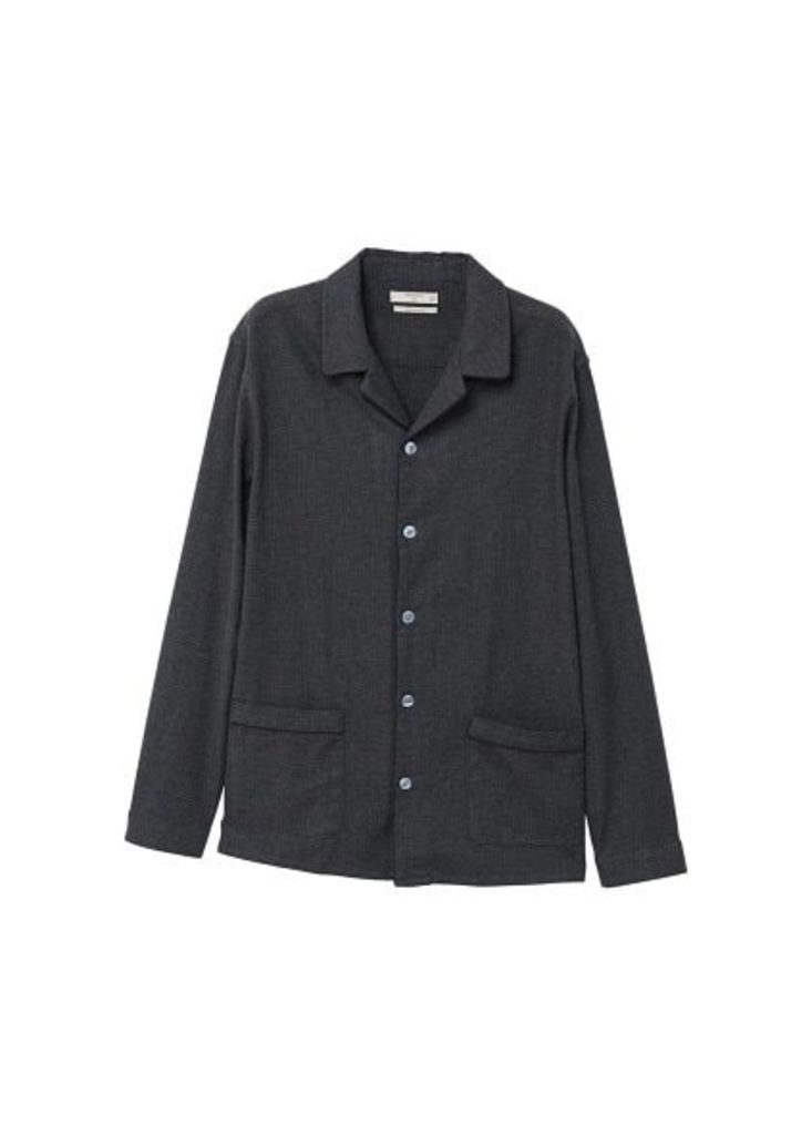 Prince of Wales regular-fit cotton shirt