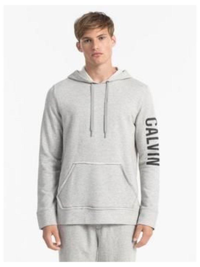 Calvin Klein Calvin Klein Sleeve Logo Hooded Loungetop