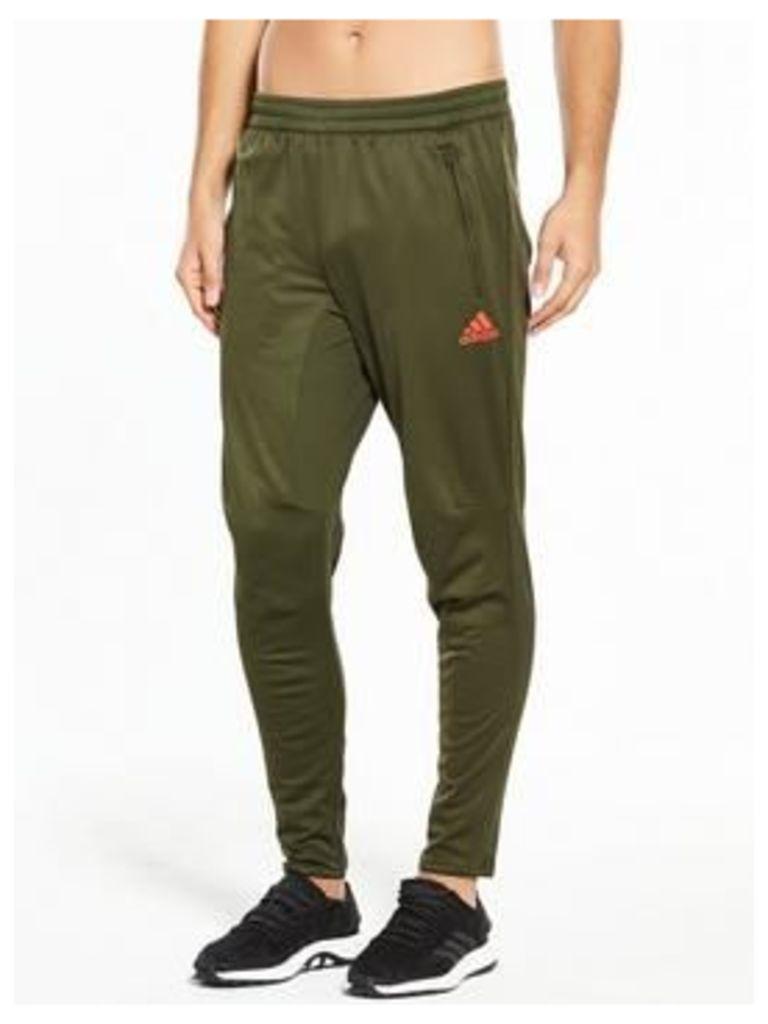 adidas Tango Training Pants, Green, Size S, Men