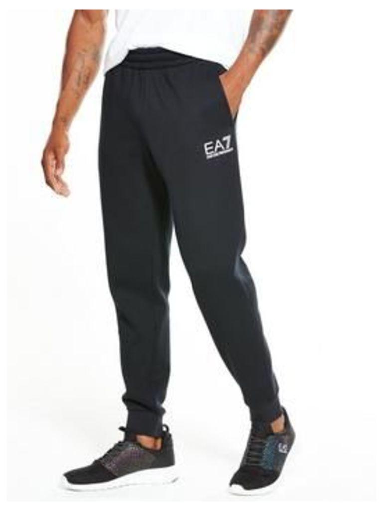 Emporio Armani EA7 EA7 Core ID Sweat Pants, Black, Size Xl, Men